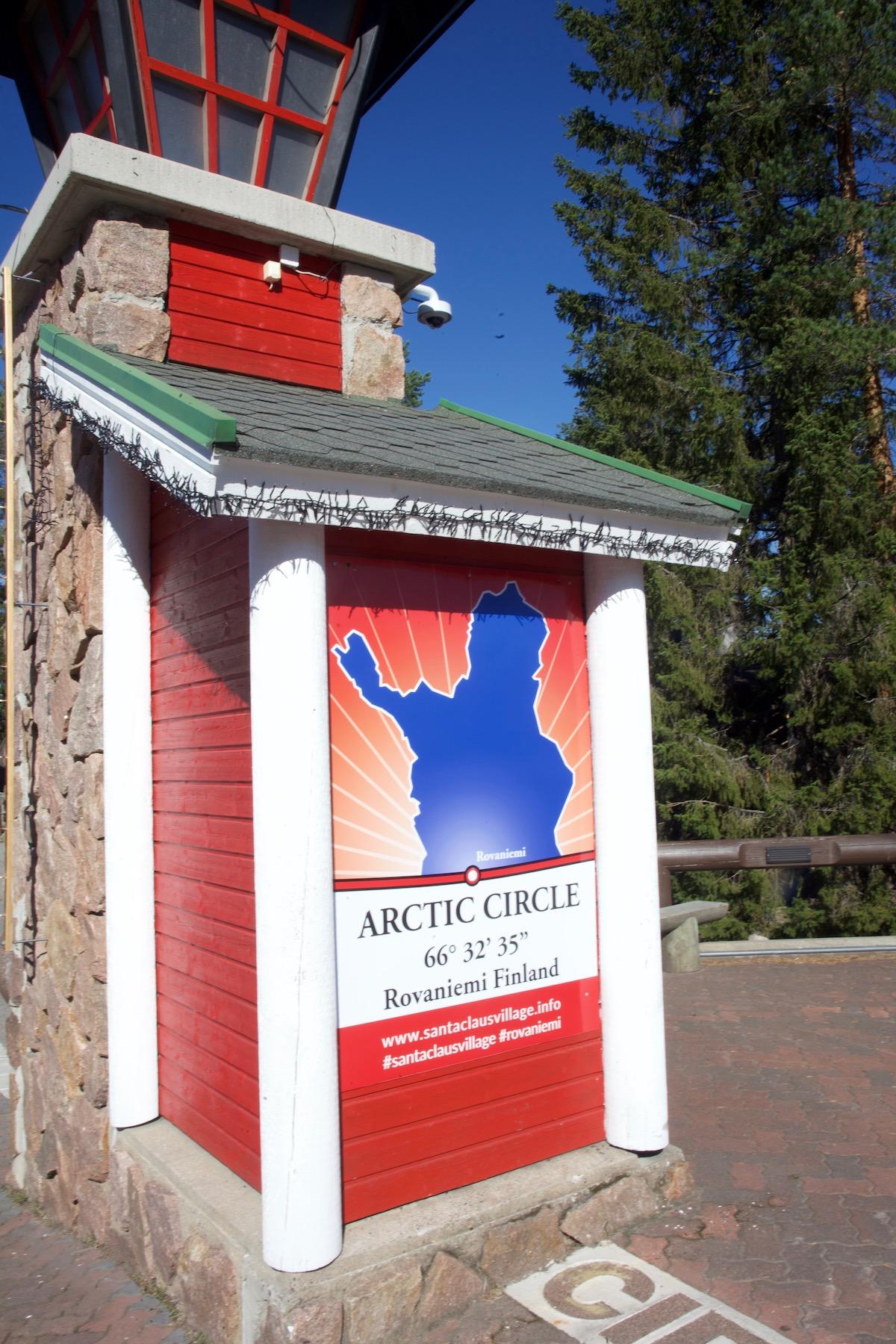 Artic circle / napapiiri