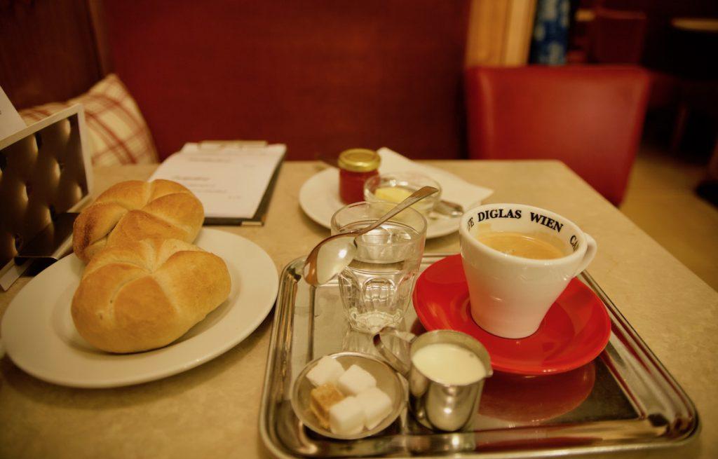 Wien kahvila