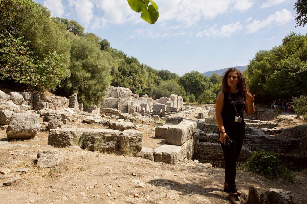 Butrint guide Albania