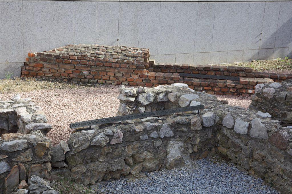Vienna Roman ruins