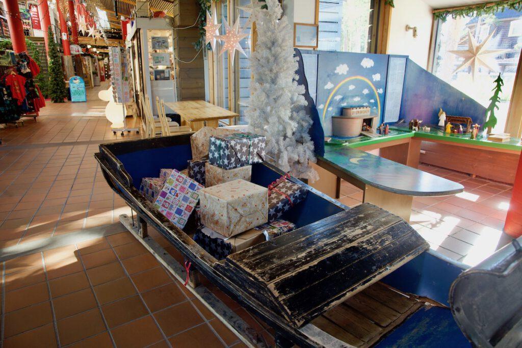 Shopping at Santa's Village